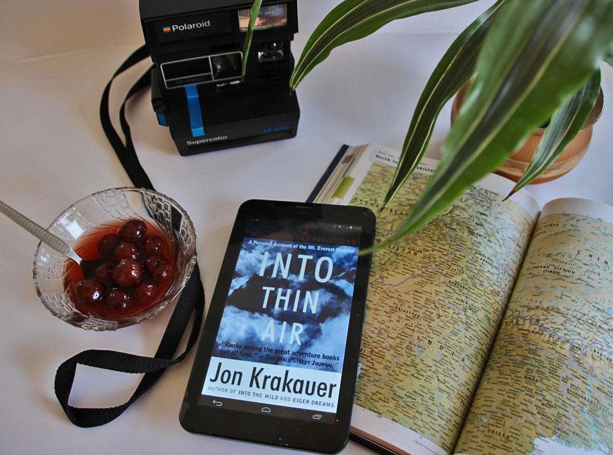 Travel Book Of The Month Into Thin Air By Jon Krakauer